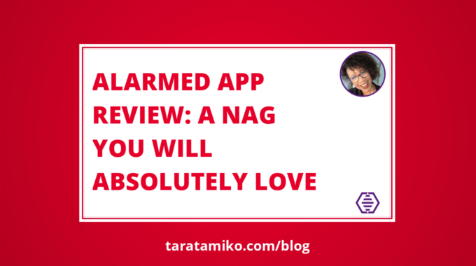 Blog Header Alarmed App review A nag you will absolutely love