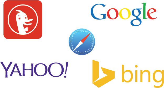 images of search engine logos