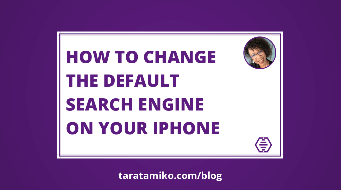 Blog Header How to change the default search engine on your iPhone