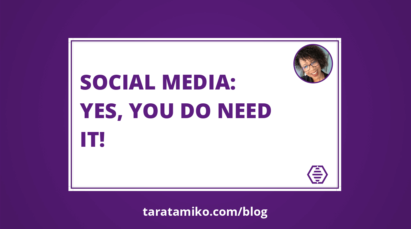 Blog Header Social media Yes you do need it