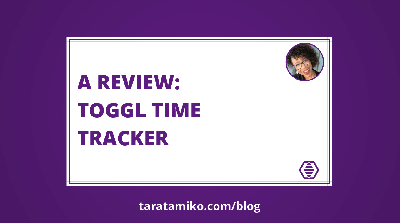 Blog Header A review Toggl Time Tracker