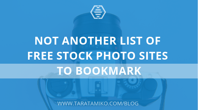 Not another list of free stock photo sites