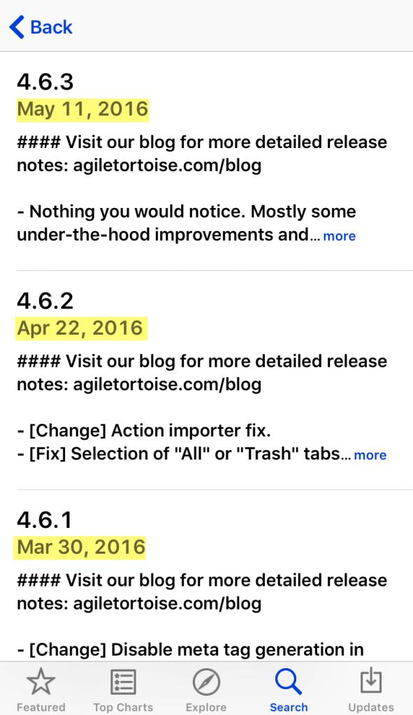 productivity-app-version