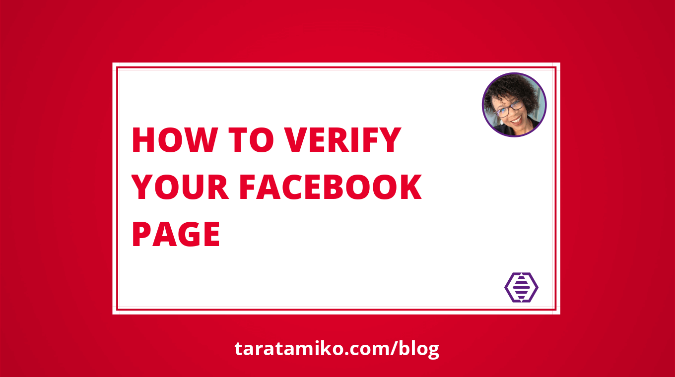 Blog Header How to Verify Your Facebook Page