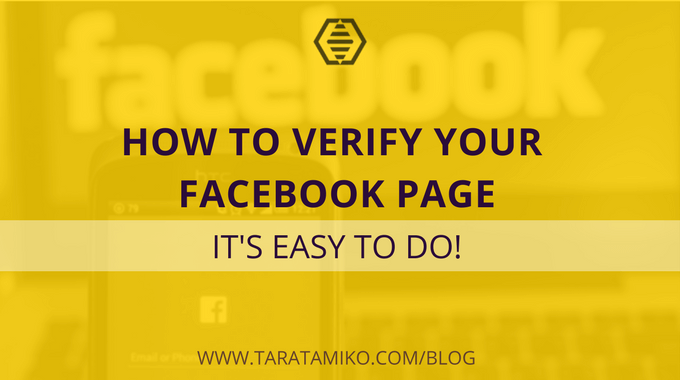 [VIDEO] How to Verify Your Facebook Page
