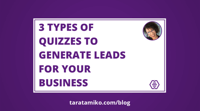 Blog Header 3 TYPES OF QUIZZES TO GENERATE LEADS FOR YOUR BUSINESS